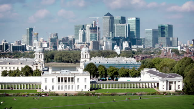 Greenwich and Canary Wharf, London video