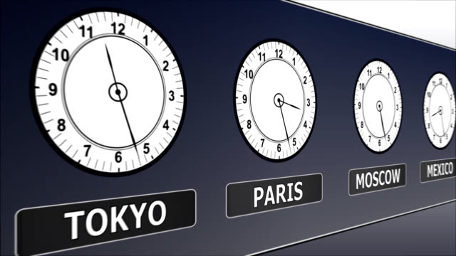 Greenwich Time in Different Countries video