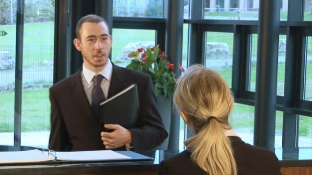 Greeting at Reception video