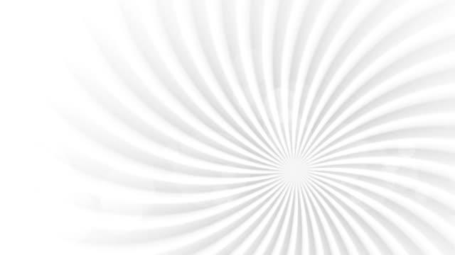 グレイの抽象的渦巻き梁回転ビデオアニメーション - 玉虫色点の映像素材/bロール