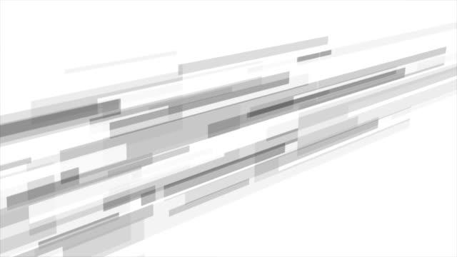 stockvideo's en b-roll-footage met grijze abstracte tech futuristische video animatie - naadloos patroon