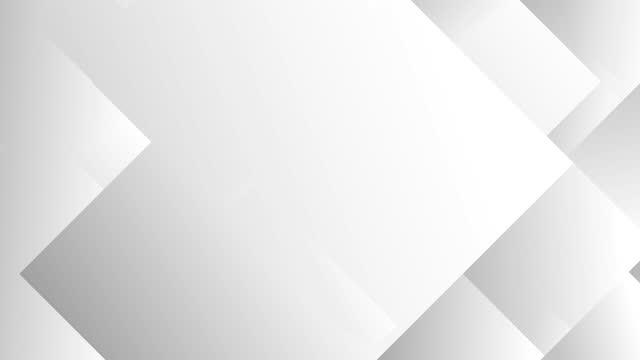 vídeos de stock e filmes b-roll de grey geometric shapes background - geometric patterns