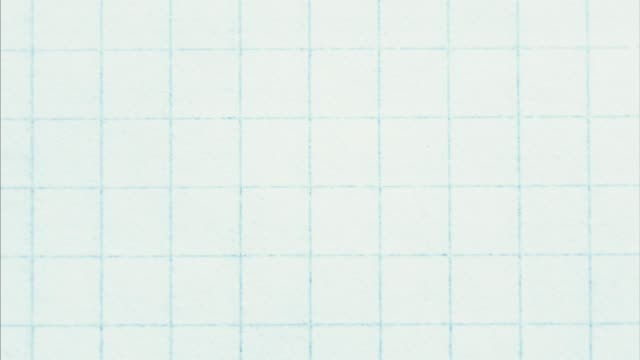 grid paper. blank empty notebook top view. video