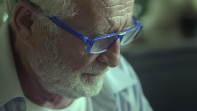 Grief Sad Senior Concepts passion stock videos & royalty-free footage