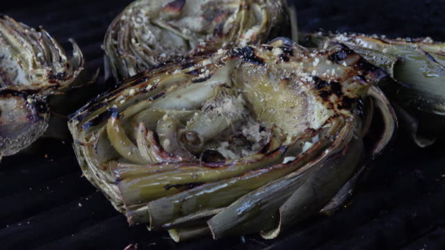 Grilled Artichoke on the Barbecue video