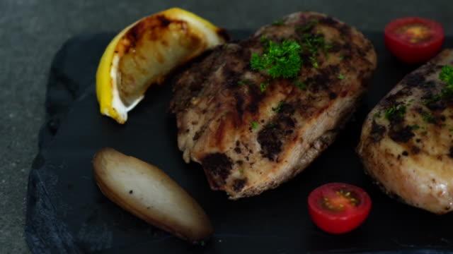 grilled chicken fillet steak video