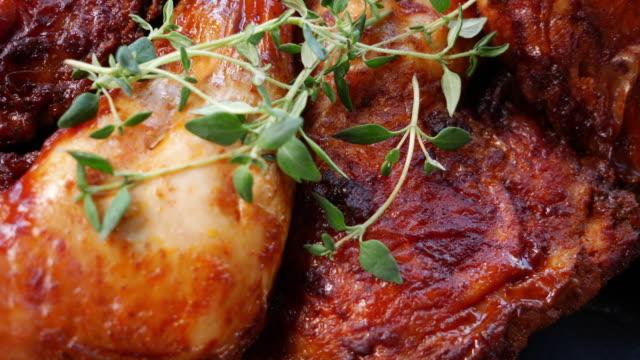 Grilled chicken, Spicy grilled chicken legs video