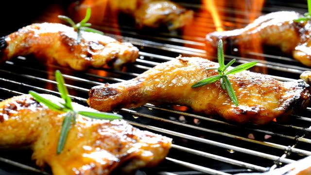 Grilled chicken video