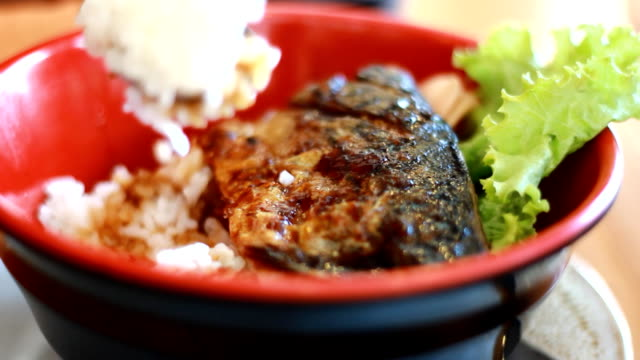 Grilled Mackerel Japanese Style video