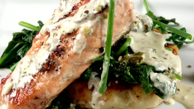 Grilled Salmon Filet video