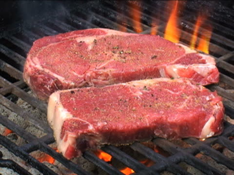 Grilling Beef video