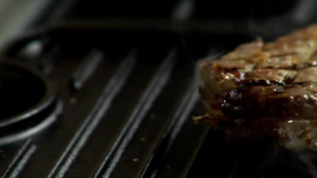 HD Grilling Steaks video