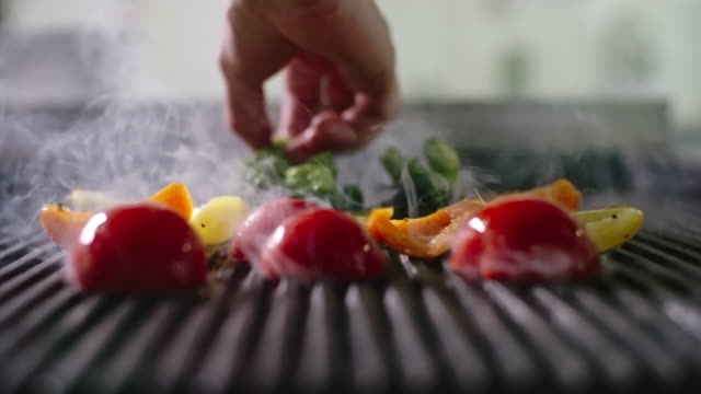 Grilling Vegetables video