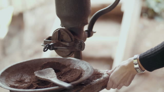Grind Coffee By Hand video