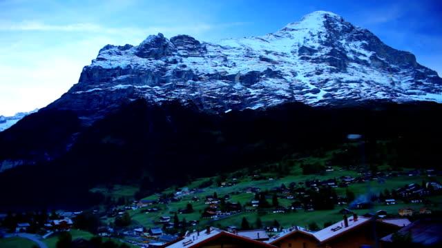 Grindelwald Valley under Jungfrau video