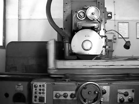 Grinder Old heavy duty industrial grinder art and craft product stock videos & royalty-free footage