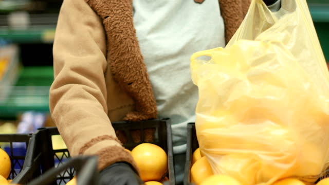 groceries during covid-19 - essential workers stock videos & royalty-free footage