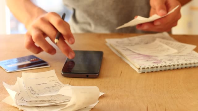Grocery Receipts. Expense Tracker. Spending Control