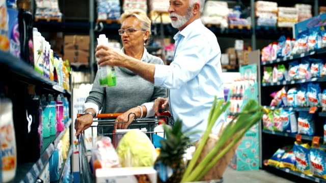grocery shopping - disinfectant stock videos & royalty-free footage