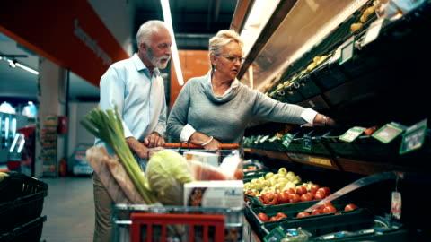 spesa - alimentazione sana video stock e b–roll