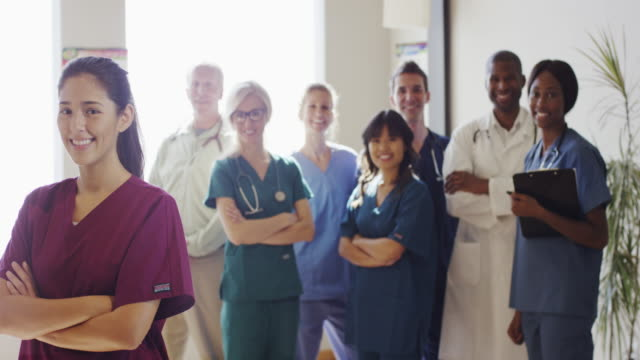 Group of Medical Doctors and Nurses video