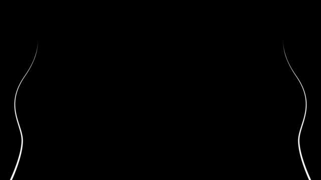 成長の枝のブドウます。アルファチャンネル hd 1080 p - ぶどう イラスト点の映像素材/bロール