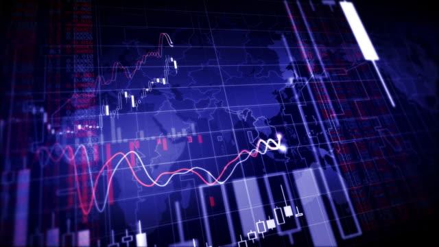 vídeos de stock e filmes b-roll de crescente de gráficos financeiros ansa - circular economy