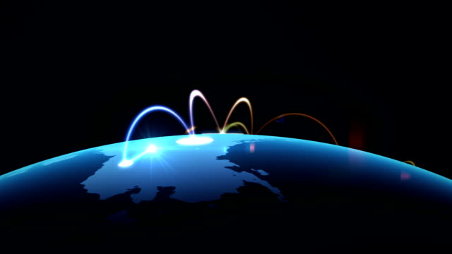 Growing network across the world video