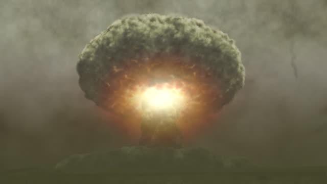 vídeos de stock, filmes e b-roll de crescendo nuke (introdução ao nuke - conflito