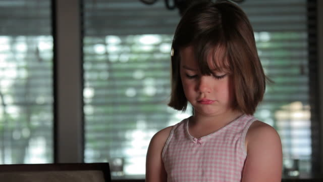 Grumpy Little Girl video