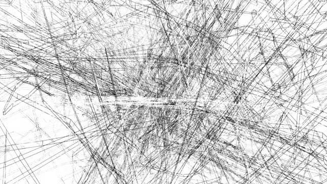 Grunge abstract lines background video
