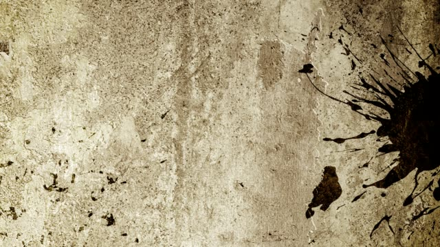 grunge background with splatters video