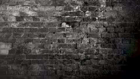 grunge muraglia in mattoni bianchi e neri brackground. video stock 4k - calcestruzzo video stock e b–roll