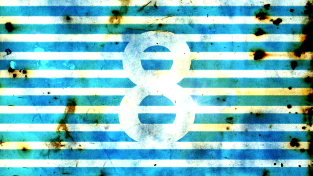Grunge countdown. video