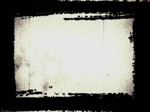 rama grunge-cyfrowa animacja - rama obrazu filmów i materiałów b-roll