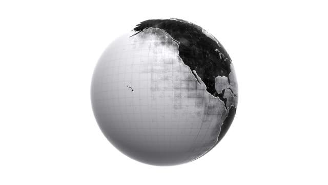 Grunge Globe Loop HD video