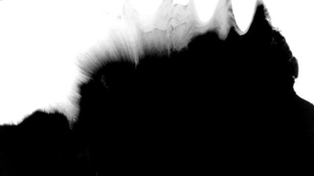 stockvideo's en b-roll-footage met grunge inkt splatters - bloed