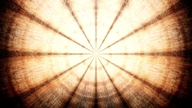 Grunge kaleidoscope video
