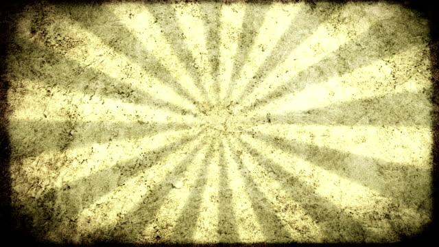 Grunge Sun Background. HD video