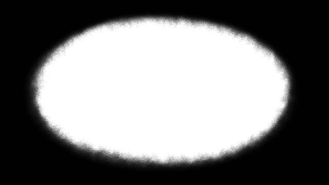 гранж виньетка кадр анимации, на белом фоне - состаривание стоковые видео и кадры b-roll
