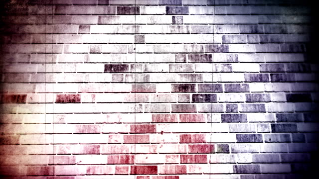 Grunge wall background. HD video