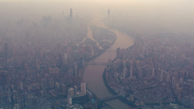 Guangzhou Aerial View video