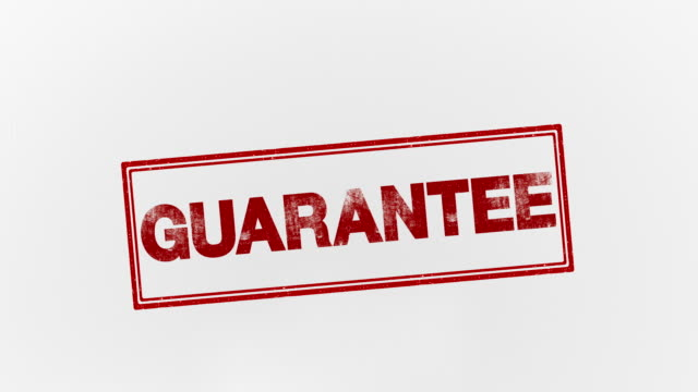 guarantee - affidabilità video stock e b–roll