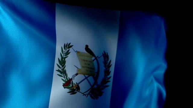 Guatemala Flag Flapping