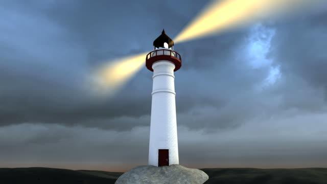 anleitung auf die raue seas 1080 i - leuchtturm stock-videos und b-roll-filmmaterial