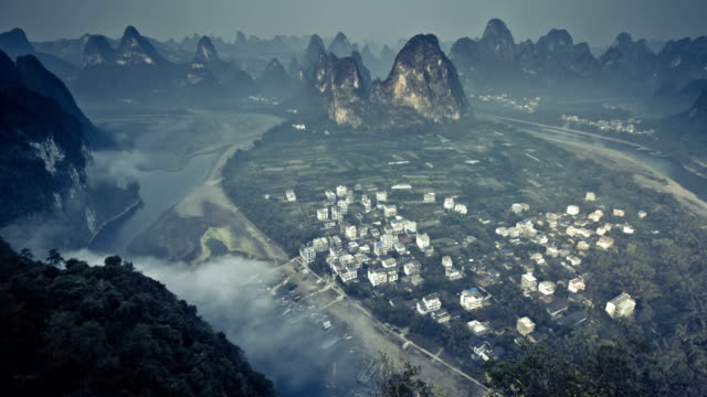 Guilin Hills in the Morning video