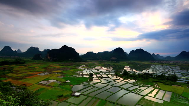 Guilin landscape,China video