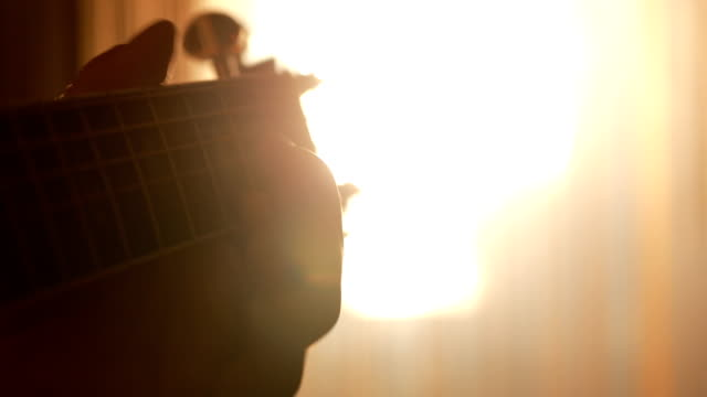 Guitar and sun in my fingers video