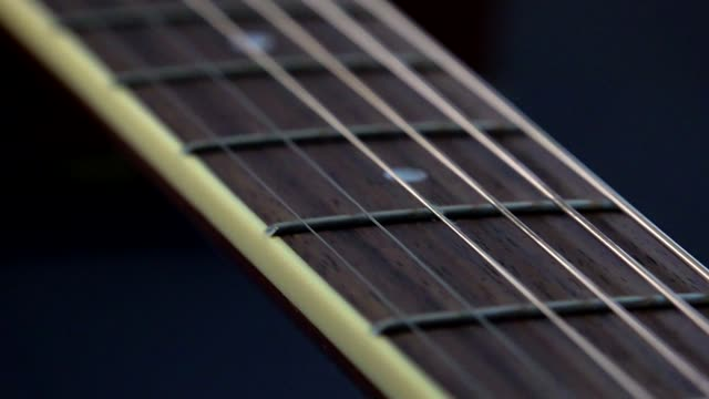 guitar studio skott - akustisk gitarr bildbanksvideor och videomaterial från bakom kulisserna