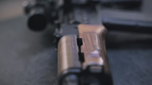 AK-47 gun details